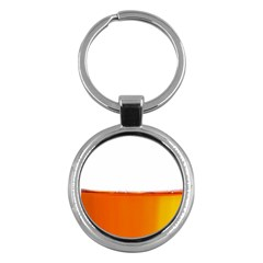 The Wine Bubbles Background Key Chains (round)  by Nexatart