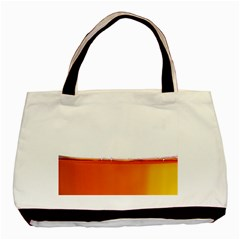 The Wine Bubbles Background Basic Tote Bag (two Sides) by Nexatart