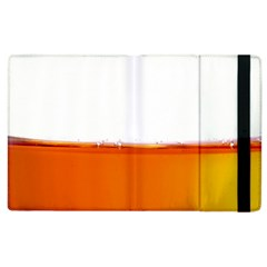 The Wine Bubbles Background Apple Ipad 2 Flip Case by Nexatart