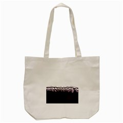 Bubbles In Red Wine Tote Bag (cream) by Nexatart