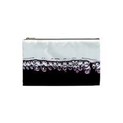 Bubbles In Red Wine Cosmetic Bag (small)  by Nexatart