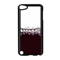Bubbles In Red Wine Apple Ipod Touch 5 Case (black) by Nexatart