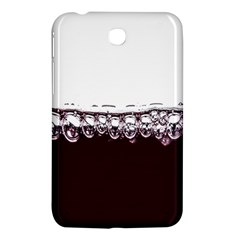 Bubbles In Red Wine Samsung Galaxy Tab 3 (7 ) P3200 Hardshell Case  by Nexatart