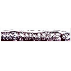 Bubbles In Red Wine Flano Scarf (large) by Nexatart