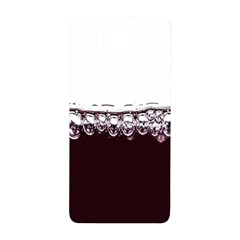 Bubbles In Red Wine Samsung Galaxy Alpha Hardshell Back Case by Nexatart