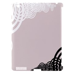 Circles Background Apple Ipad 3/4 Hardshell Case (compatible With Smart Cover) by Nexatart