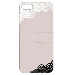 Circles Background Apple Iphone 5 Hardshell Case With Stand by Nexatart