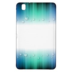Blue Stripe With Water Droplets Samsung Galaxy Tab Pro 8 4 Hardshell Case