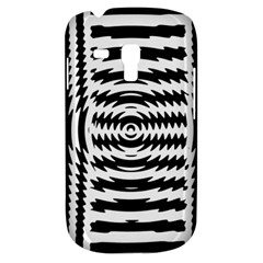 Black And White Abstract Stripped Geometric Background Galaxy S3 Mini