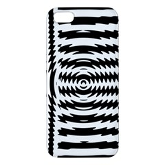 Black And White Abstract Stripped Geometric Background Iphone 5s/ Se Premium Hardshell Case by Nexatart
