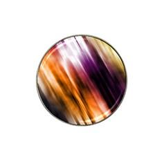 Colourful Grunge Stripe Background Hat Clip Ball Marker (10 Pack) by Nexatart