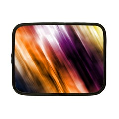 Colourful Grunge Stripe Background Netbook Case (small)  by Nexatart