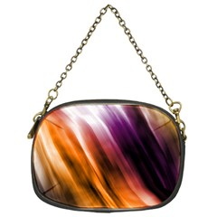Colourful Grunge Stripe Background Chain Purses (one Side)  by Nexatart