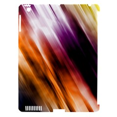 Colourful Grunge Stripe Background Apple Ipad 3/4 Hardshell Case (compatible With Smart Cover)