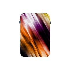 Colourful Grunge Stripe Background Apple Ipad Mini Protective Soft Cases by Nexatart