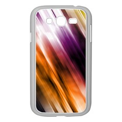 Colourful Grunge Stripe Background Samsung Galaxy Grand Duos I9082 Case (white)