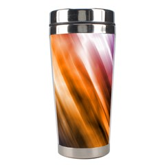 Colourful Grunge Stripe Background Stainless Steel Travel Tumblers by Nexatart