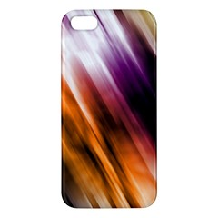 Colourful Grunge Stripe Background Iphone 5s/ Se Premium Hardshell Case
