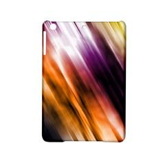 Colourful Grunge Stripe Background Ipad Mini 2 Hardshell Cases by Nexatart