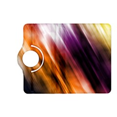 Colourful Grunge Stripe Background Kindle Fire Hd (2013) Flip 360 Case by Nexatart