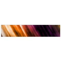 Colourful Grunge Stripe Background Flano Scarf (small)