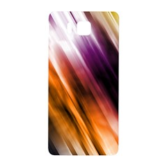 Colourful Grunge Stripe Background Samsung Galaxy Alpha Hardshell Back Case