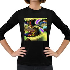 Spiral Of Tubes Women s Long Sleeve Dark T-Shirts