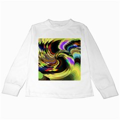 Spiral Of Tubes Kids Long Sleeve T Shirts