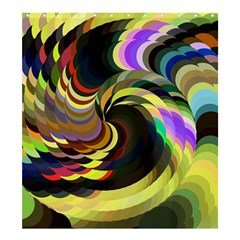 Spiral Of Tubes Shower Curtain 66  X 72  (large)  by Nexatart