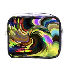 Spiral Of Tubes Mini Toiletries Bags by Nexatart
