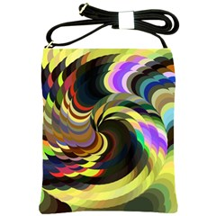 Spiral Of Tubes Shoulder Sling Bags by Nexatart