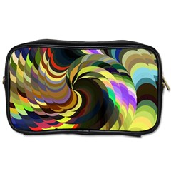 Spiral Of Tubes Toiletries Bags by Nexatart