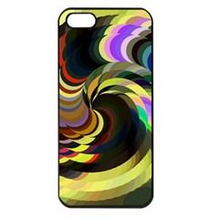 Spiral Of Tubes Apple Iphone 5 Seamless Case (black) by Nexatart