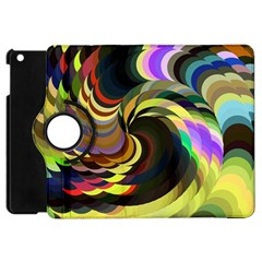 Spiral Of Tubes Apple Ipad Mini Flip 360 Case