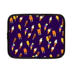 Seamless Cartoon Ice Cream And Lolly Pop Tilable Design Netbook Case (small)  by Nexatart