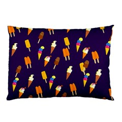 Seamless Cartoon Ice Cream And Lolly Pop Tilable Design Pillow Case