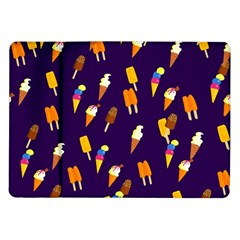Seamless Cartoon Ice Cream And Lolly Pop Tilable Design Samsung Galaxy Tab 10 1  P7500 Flip Case by Nexatart