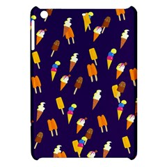 Seamless Cartoon Ice Cream And Lolly Pop Tilable Design Apple Ipad Mini Hardshell Case by Nexatart