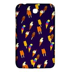 Seamless Cartoon Ice Cream And Lolly Pop Tilable Design Samsung Galaxy Tab 3 (7 ) P3200 Hardshell Case  by Nexatart