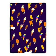 Seamless Cartoon Ice Cream And Lolly Pop Tilable Design Samsung Galaxy Tab S (10 5 ) Hardshell Case