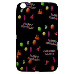 Cartoon Birthday Tilable Design Samsung Galaxy Tab 3 (8 ) T3100 Hardshell Case