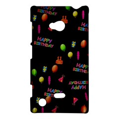 Cartoon Birthday Tilable Design Nokia Lumia 720