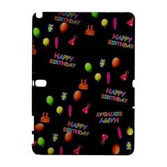 Cartoon Birthday Tilable Design Galaxy Note 1 by Nexatart