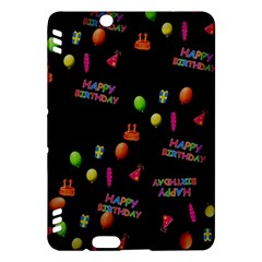 Cartoon Birthday Tilable Design Kindle Fire HDX Hardshell Case