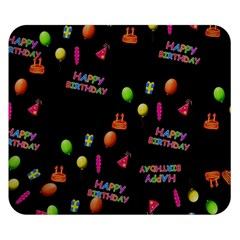 Cartoon Birthday Tilable Design Double Sided Flano Blanket (small)  by Nexatart