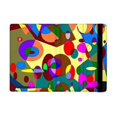 Abstract Digital Circle Computer Graphic Apple Ipad Mini Flip Case