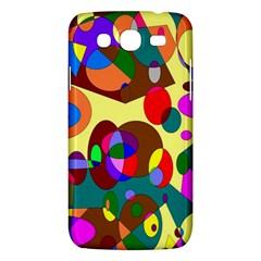 Abstract Digital Circle Computer Graphic Samsung Galaxy Mega 5 8 I9152 Hardshell Case  by Nexatart