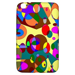 Abstract Digital Circle Computer Graphic Samsung Galaxy Tab 3 (8 ) T3100 Hardshell Case  by Nexatart
