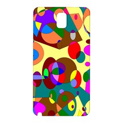 Abstract Digital Circle Computer Graphic Samsung Galaxy Note 3 N9005 Hardshell Back Case by Nexatart