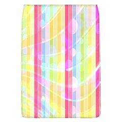 Abstract Stipes Colorful Background Circles And Waves Wallpaper Flap Covers (l)